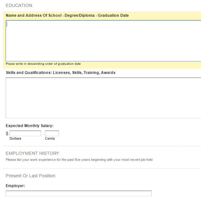 prestashop job employment application form bellini services modules