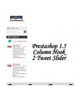 Prestashop Twitter Timeline Slider Pro Module